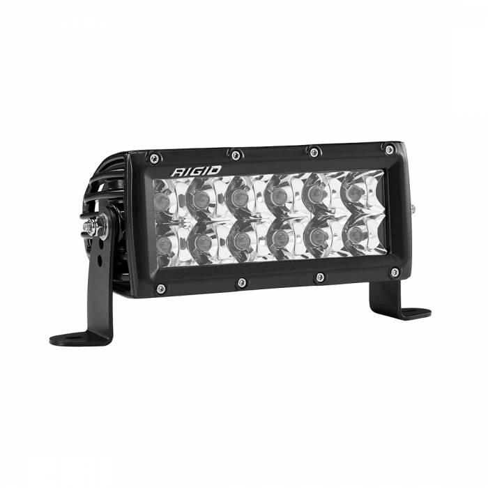 Rigid Industries - Rigid Industries 6 Inch Spot Light Amber E-Series Pro RIGID Industries 106222