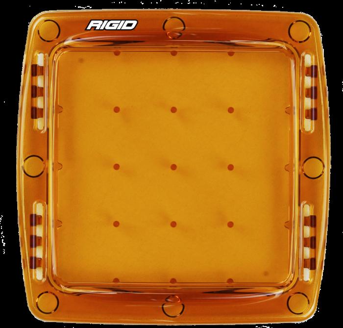 Rigid Industries - Rigid Industries Light Cover Amber Q-Series Pro RIGID Industries 103933