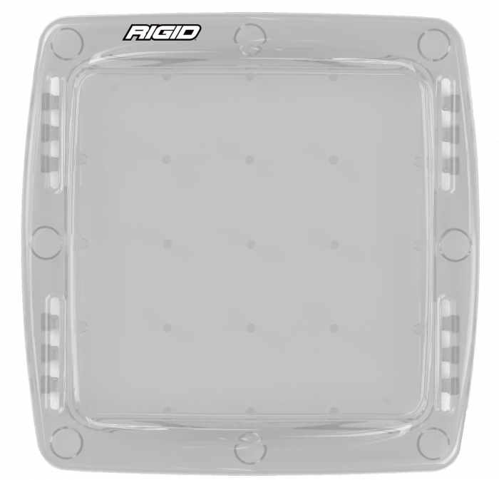 Rigid Industries - Rigid Industries Light Cover Clear Q-Series Pro RIGID Industries 103923