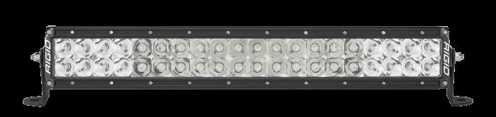 Rigid Industries - Rigid Industries 20 Inch Spot/Flood Combo Light Black Housing E-Series Pro RIGID Industries 120313