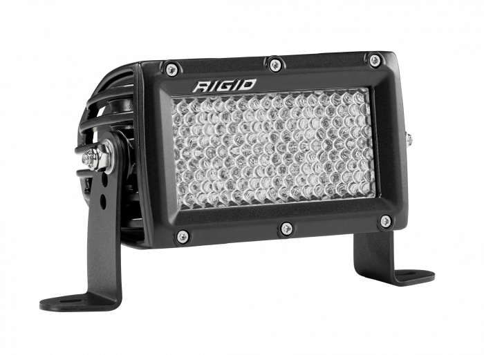 Rigid Industries - Rigid Industries 4 Inch Driving Diffused Light Black Housing E-Series Pro RIGID Industries 173513