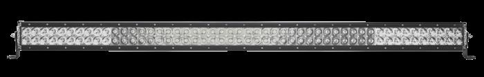 Rigid Industries - Rigid Industries 50 Inch Spot/Flood Combo Light Black Housing E-Series Pro RIGID Industries 150313
