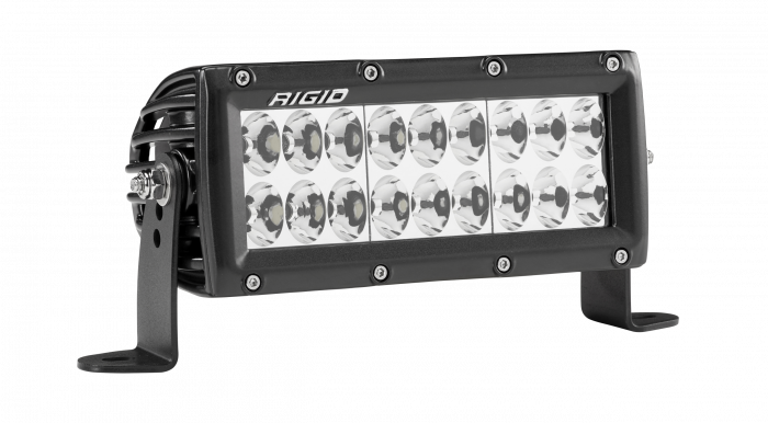 Rigid Industries - Rigid Industries 6 Inch Driving Light Black Housing E-Series Pro RIGID Industries 175613