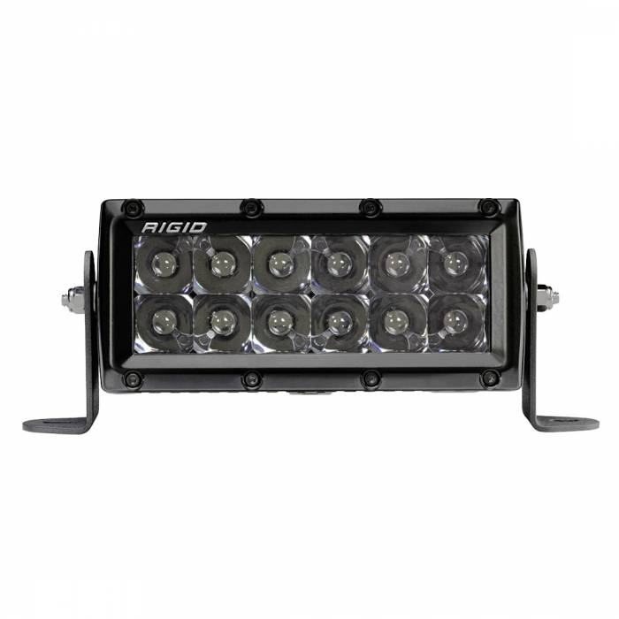 Rigid Industries - Rigid Industries 6 Inch Spot Midnight E-Series Pro RIGID Industries 106213BLK