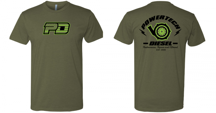 PowerTech Diesel - PowerTech PD FLAG AND TURBO OD/LIME