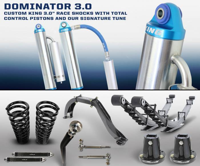 Carli Suspension - Carli Suspension Dominator 3.0 System for Dodge Cummins 1994-2012