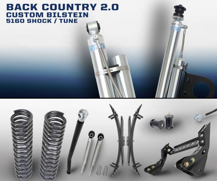 Carli Suspension - Carli Suspension Backcountry System for Ford Powerstroke 2005-2013