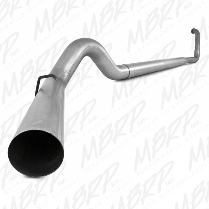 MBRP Exhaust - MBRP 1999-2003 Powerstroke 7.3L Turbo Back Exhaust System Without Muffler