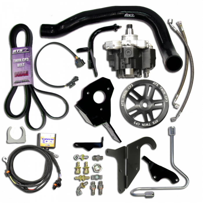 ATS Diesel - ATS Diesel 2004.5-2007 Cummins 5.9L Twin Fueler CP3 Pump Kit | 70190002290