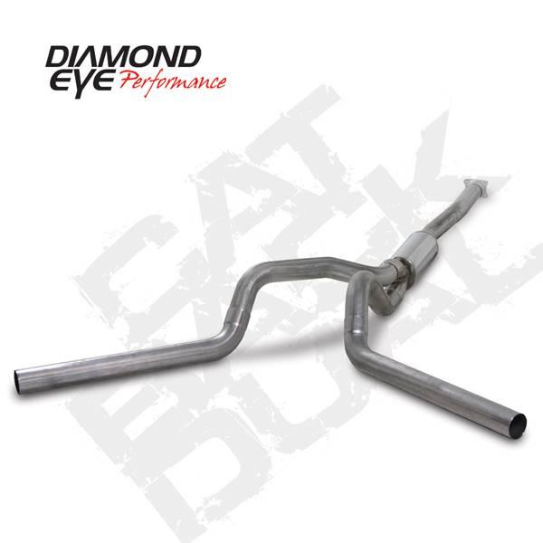 Diamond Eye Performance - Diamond Eye 2001-2005 Duramax Cat Back Dual Exhaust Systems