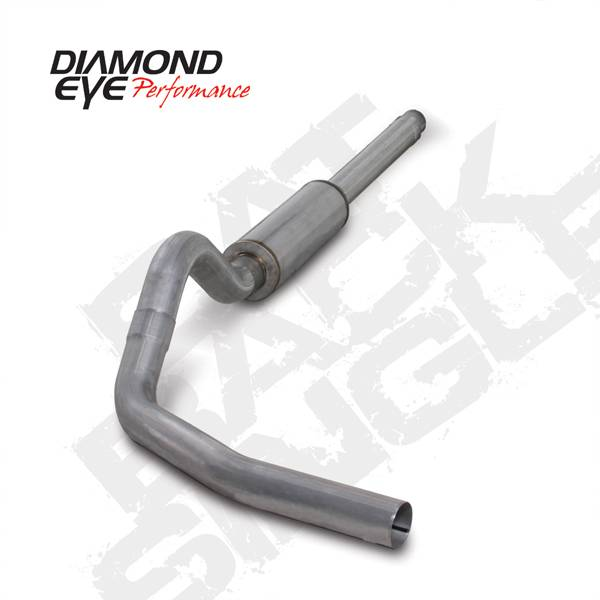 Diamond Eye Performance - Diamond Eye 1994-1997 Powerstroke Cat Back Exhaust