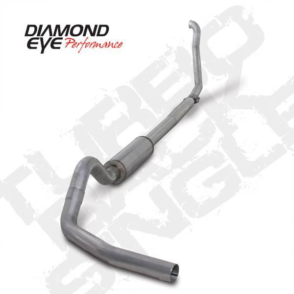 Diamond Eye Performance - Diamond Eye 1994-1997 Powerstroke Turbo Back Exhaust