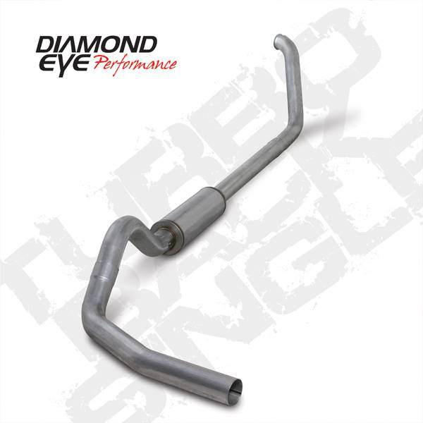 Diamond Eye Performance - Diamond Eye 1999-2003 Powerstroke Turbo Back Exhaust