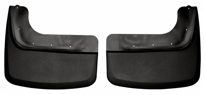 Husky Liners - Husky Liners 2011-2014 Super Duty Dually Rear Custom Molded Mud Flaps