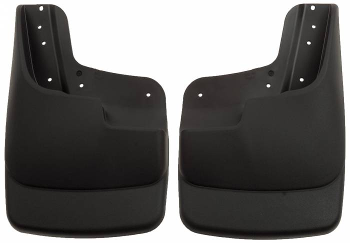 Husky Liners - Husky Liners 2003-2010 Super Duty Front Molded Mud Flaps With Factory Flares