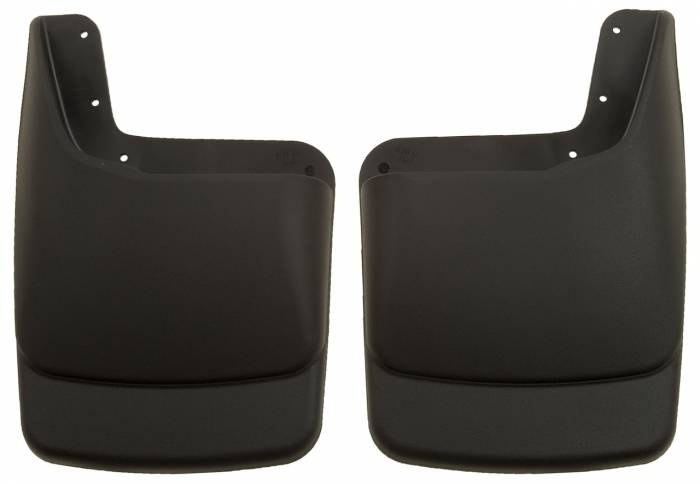Husky Liners - Husky Liners 2003-2010 Super Duty Rear Molded Mud Flaps With Factory Flares