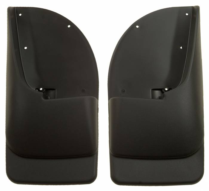 Husky Liners - Husky Liners 1999-2010 Super Duty Rear Molded Mud Flaps Without Flares