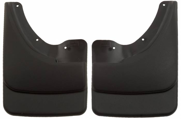 Husky Liners - Husky Liners 2003-2009 Ram Without Flares Front Molded Mud Flaps