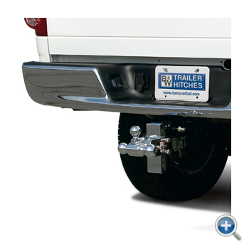 """B&W Hitches - B&W Hitches Tow and Stow Receiver Hitch 5"""" Drop"""