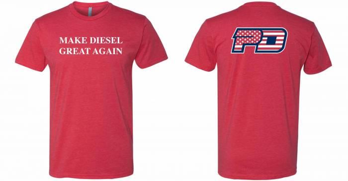 PowerTech Diesel - Make Diesel Great Again !  RED T SHIRT