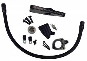 Cooling System - Cooling System Parts - Fleece Performance - Fleece Performance Cummins Coolant Bypass Kit 2007.5-2016 6.7L Fleece Performance FPE-CLNTBYPS-CUMMINS-6.7