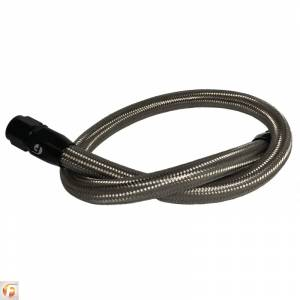 Cooling System - Cooling System Parts - Fleece Performance - Fleece Performance 34.5 Inch Common Rail/VP44 Cummins Coolant Bypass Hose Stainless Steel Braided Fleece Performance FPE-CLNTBYPS-HS-CRVP-SS