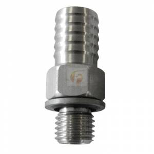 Fleece Performance - Fleece Performance 1/2 Inch CP3 Feed Fitting Fleece Performance FPE-CP3-FEED