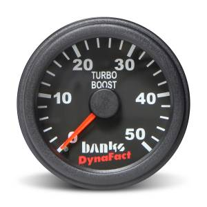 Gauges & Pods - Gauges - Banks Power - Banks Power Boost Gauge Kit 0-50 PSI 2-1/16 Inch Diameter (52.4mm) Banks Power 64051