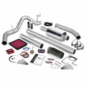 Banks Power - Banks Power Stinger Bundle Power System W/Single Exit Exhaust Black Tip 98 Dodge 5.9L Extended Cab Banks Power 49364-B