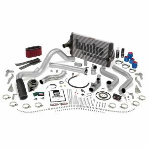 1996-1997 Ford 7.3L Powerstroke - Performance Bundles - Banks Power - Banks Power PowerPack Bundle Complete Power System W/OttoMind Engine Calibration Module Black Tip 95.5-97 Ford 7.3L Manual Transmission Banks Power 48562-B