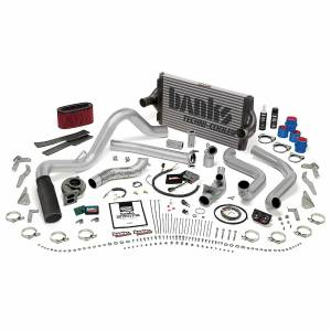 1996-1997 Ford 7.3L Powerstroke - Performance Bundles - Banks Power - Banks Power PowerPack Bundle Complete Power System W/OttoMind Engine Calibration Module Black Tip 95.5-97 Ford 7.3L Automatic Transmission Banks Power 48561-B