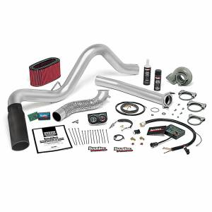 1996-1997 Ford 7.3L Powerstroke - Performance Bundles - Banks Power - Banks Power Stinger Plus Bundle Power System W/Single Exit Exhaust Black Tip 95.5-97 Ford 7.3L Manual Transmission Banks Power 48560-B
