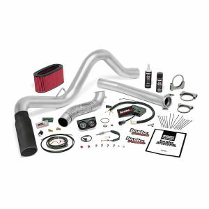1996-1997 Ford 7.3L Powerstroke - Performance Bundles - Banks Power - Banks Power Stinger Bundle Power System W/Single Exit Exhaust Black Tip 95.5-97 Ford 7.3L Manual Transmission Banks Power 48558-B