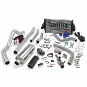 1996-1997 Ford 7.3L Powerstroke - Performance Bundles - Banks Power - Banks Power PowerPack Bundle Complete Power System W/OttoMind Engine Calibration Module Black Tail Pipe 94-97 Ford 7.3L CCLB Manual Transmission Banks Power 46361-B