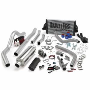 1996-1997 Ford 7.3L Powerstroke - Performance Bundles - Banks Power - Banks Power PowerPack Bundle Complete Power System W/OttoMind Engine Calibration Module Black Tail Pipe 94-97 Ford 7.3L CCLB Automatic Transmission Banks Power 46356-B