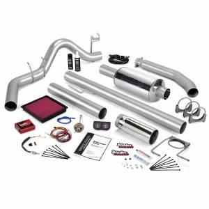 Banks Power - Banks Power Stinger Bundle Power System W/Single Exit Exhaust Chrome Tip 99-00 Dodge 5.9L Extended Cab Banks Power 49366