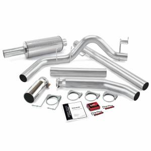 Banks Power - Banks Power Git-Kit Bundle Power System W/Single Exit Exhaust Chrome Tip 98-00 Dodge 5.9L Extended Cab Banks Power 49358