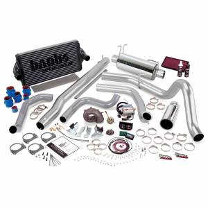 1999-2003 Ford 7.3L Powerstroke - Performance Bundles - Banks Power - Banks Power PowerPack Bundle Complete Power System W/Single Exit Exhaust Chrome Tip 99.5-03 Ford 7.3L F250/F350 Automatic Transmission Banks Power 47556