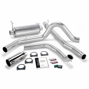 1999-2003 Ford 7.3L Powerstroke - Performance Bundles - Banks Power - Banks Power Git-Kit Bundle Power System W/Single Exit Exhaust Chrome Tip 01-03 Ford 7.3L W/Catalytic Converter Banks Power 47513