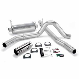 1999-2003 Ford 7.3L Powerstroke - Performance Bundles - Banks Power - Banks Power Git-Kit Bundle Power System W/Single Exit Exhaust Chrome Tip 99-03 Ford 7.3L F450/F550 Automatic or Manual Transmission Banks Power 47401
