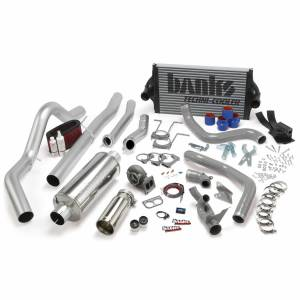 1996-1997 Ford 7.3L Powerstroke - Performance Bundles - Banks Power - Banks Power PowerPack Bundle Complete Power System W/OttoMind Engine Calibration Module Chrome Tail Pipe 94-97 Ford 7.3L CCLB Manual Transmission Banks Power 46361