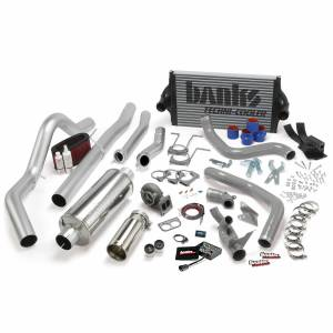 1996-1997 Ford 7.3L Powerstroke - Performance Bundles - Banks Power - Banks Power PowerPack Bundle Complete Power System W/OttoMind Engine Calibration Module Chrome Tail Pipe 94-97 Ford 7.3L CCLB Automatic Transmission Banks Power 46356