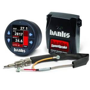 1999-2003 Ford 7.3L Powerstroke - Engine Components - Banks Power - Banks Power Banks SpeedBrake with Banks iDash 1.8 Super Gauge, Thermocouple for use with 2003-2004 Ford 6.0L Banks Power 61435