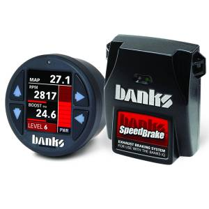 Shop By Part - Engine Components - Banks Power - Banks Power Banks SpeedBrake with Banks iDash 1.8 Super Gauge for use with 2008-2010 Ford 6.4L Banks Power 61434