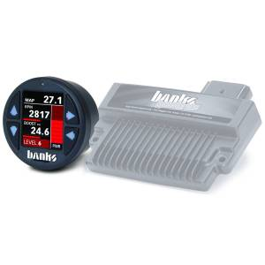 Banks Power - Banks Power Banks SpeedBrake with Banks iDash 1.8 Super Gauge for use with 2006-2007 Chevy 6.6L, LLY-LBZ Banks Power 61432