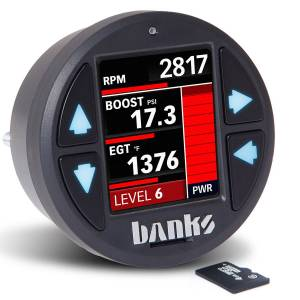 Gauges & Pods - Gauges - Banks Power - Banks Power iDash 1.8 DataMonster for use with Derringer Tuner Banks Power 66761