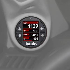 Gauges & Pods - Gauges - Banks Power - Banks Power iDash 1.8 DataMonster for use with OBDII CAN bus vehicles Expansion Gauge Banks Power 66762