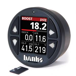 Gauges & Pods - Gauges - Banks Power - Banks Power iDash 1.8 DataMonster for use with Aftermarket ECUs Banks Power 66763
