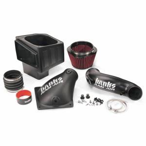 Air Intakes & Accessories - Air Intake Kits - Banks Power - Banks Power Ram-Air Cold-Air Intake System Oiled Filter 10-12 Dodge/Ram 6.7L Banks Power 42180