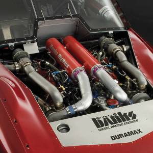 Banks Power - Banks Power Big Hoss Racing Intake Manifold System Red Powder Coated 01-15 Chevy/GM 6.6L Banks Power 42733 - Image 2